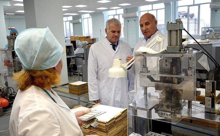 Сергей Мартынов посетил предприятие ОПК