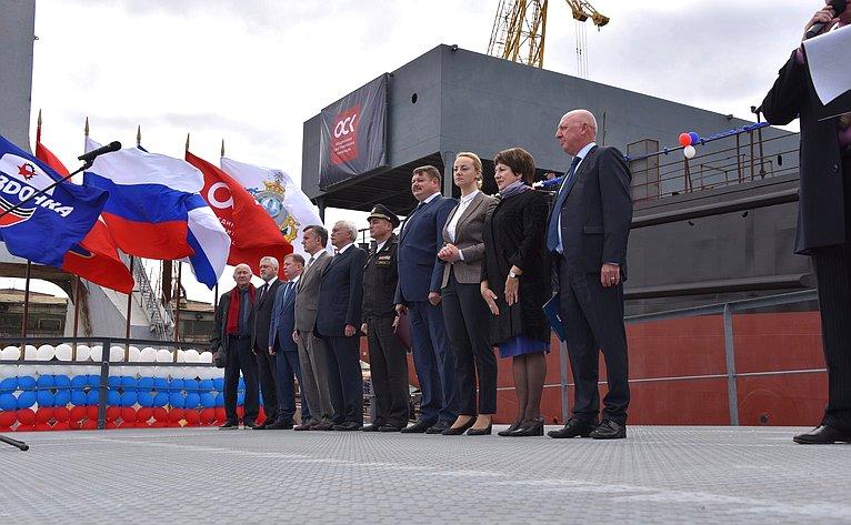 Екатерина Алтабаева посетила филиал «Севастопольский морской завод» АО «Центр судоремонта «Звездочка»
