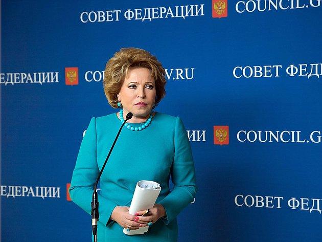 17-04 332 заседание  Совета Федерации Матвиенко подход 22