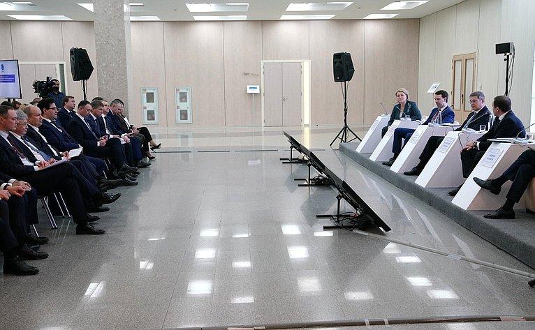 Лилия Гумерова приняла участие вработе стратегической сессии «Создание Евразийского научно-образовательного центра мирового уровня вРеспублике Башкортостан»