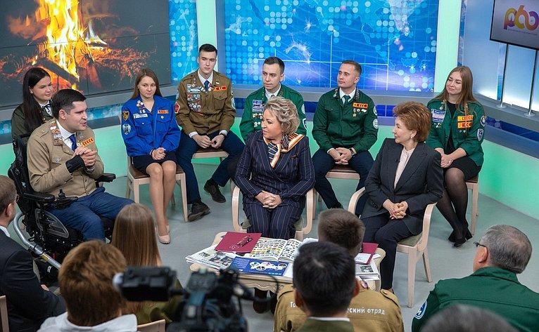 Валентина Матвиенко иГалина Карелова