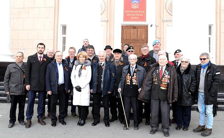 Старт российско-норвежского похода памяти