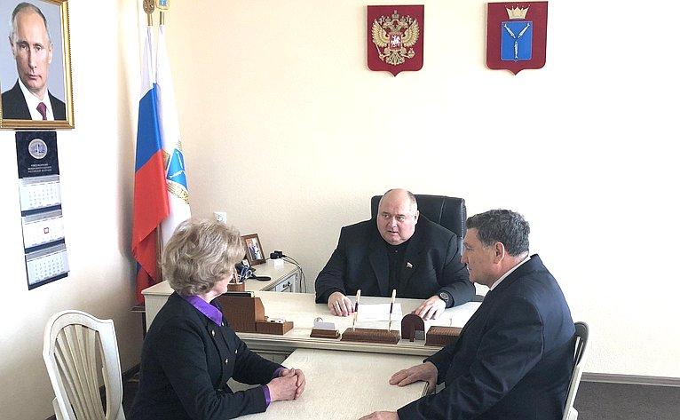 Сергей Аренин провел рабочую встречу сруководством областных ветеранских организаций
