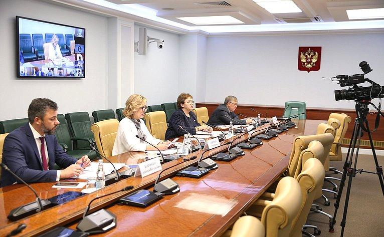Заседание Совета поделам инвалидов натему «Новые возможности иинновационные решения впредоставлении услуг инвалидам: опыт регионов»