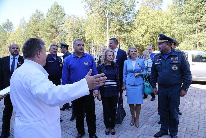 Реабилитационный центр МЧС Воробьев