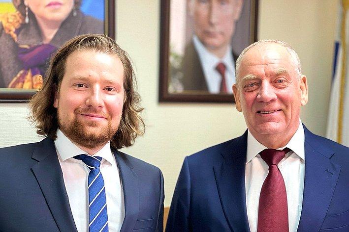 Сергей Митин провел встречу сруководством Ассоциации производителей питьевой воды врозлив