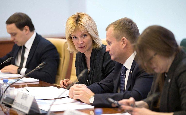 Совещание Комитета СФ пофедеративному устройству, региональной политике, МСУ иделам Севера