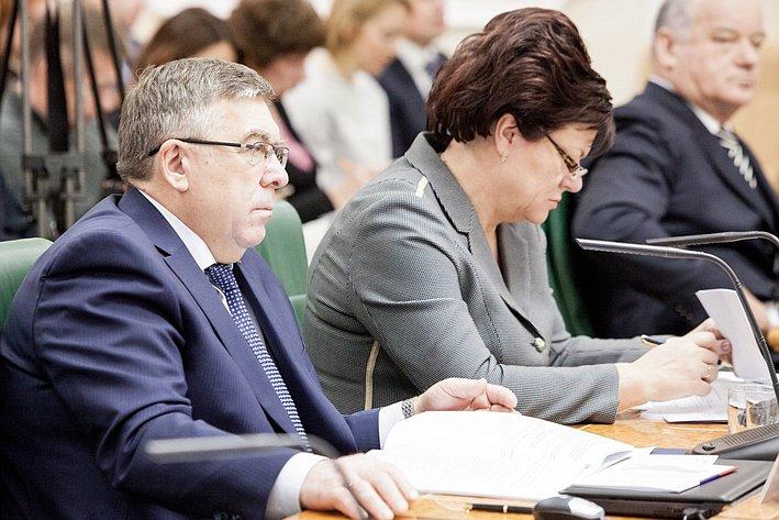В. Рязанский Президиум Совета законодателей