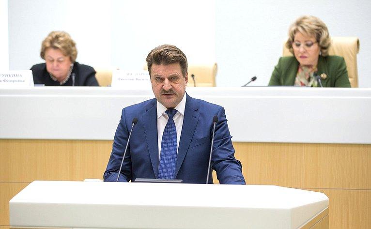 Встреча Председателя Совета Федерации стружениками социальной сферы села