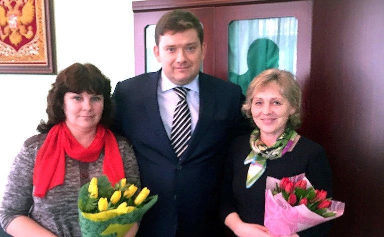 Н. Журавлев провел вКостроме личный прием граждан
