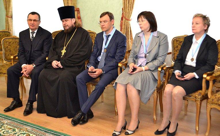Н. Федоров принял участие вцеремонии освящения собора Благовещения Пресвятой Богородицы вЙошкар-Оле