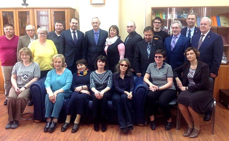 С. Попов принял участие впервом организационном собрании отделения РИО вОмске