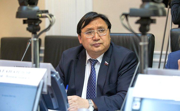 А. Акимов назаседании Президиума Совета поАрктике иАнтарктике
