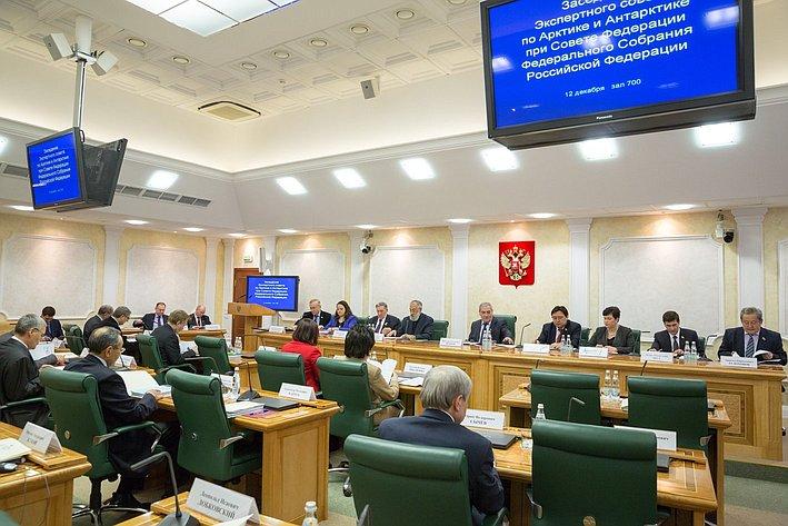 Заседание Экспертного совета по Арктике и Антарктике при Совете Федерации