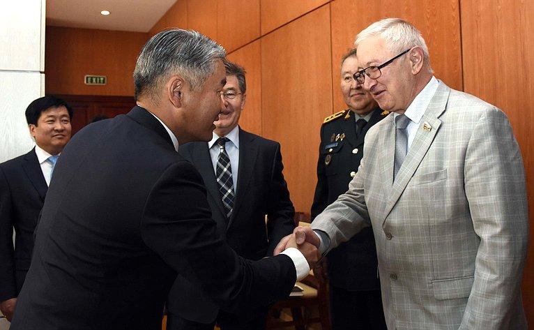Делегация Комитета СФ пообороне ибезопасности посетила Монголию срабочим визитом