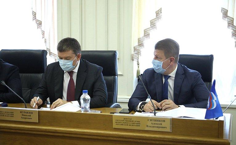 Николай Журавлев принял участие взаседании Костромской областной Думы