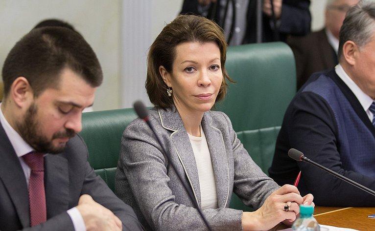 В. Крашенинникова назаседании Комитета общественной поддержки жителей Юго-Востока Украины