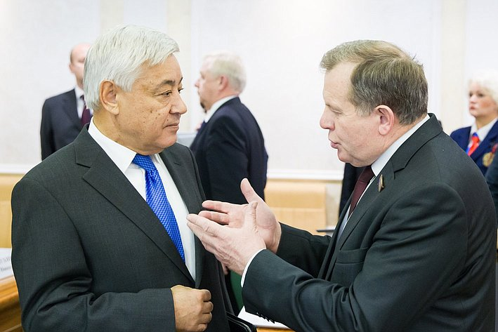 Заседание Президиума Совета законодателей РФ и Консультативного совета по межнациональным отношениям -3 Фарид Мухаметшин