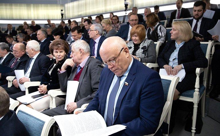 Заседание Совета повопросам агропромышленного комплекса иприродопользования при Совете Федерации, накотором будут обсуждаться вопросы овнесении изменений вФедеральный закон «Обохране окружающей среды»