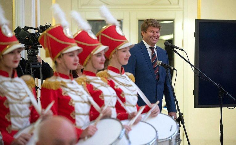 Церемония награждения победителей ипризёров IV летней Спартакиады молодежи России вСовете Федерации