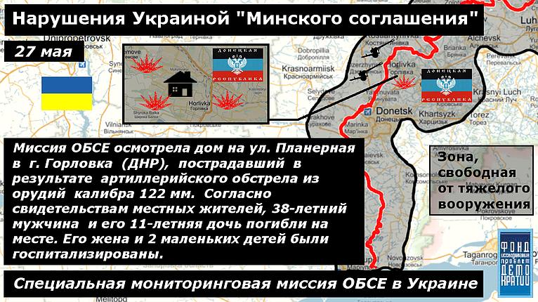 Фото нарушения минских соглашений 2 27-05