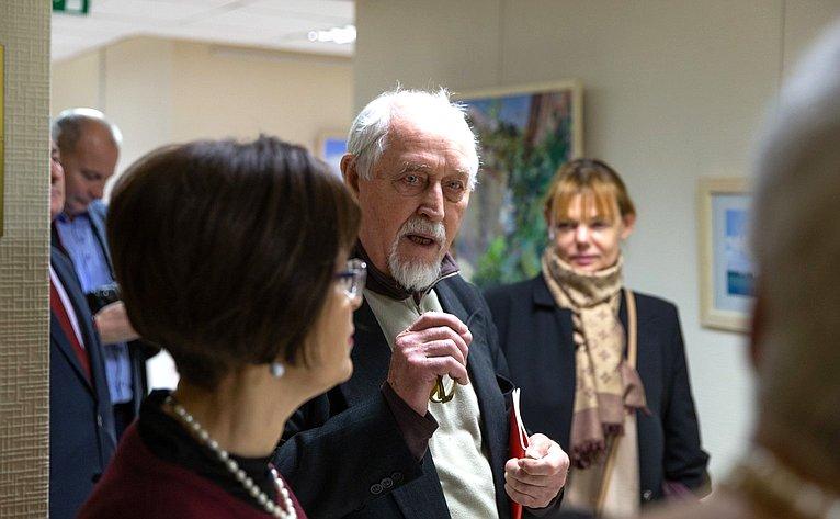 Открытие выставки картин «Море. Севастополь. Небо»