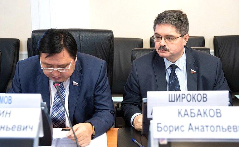 Александр Акимов иАнатолий Широков