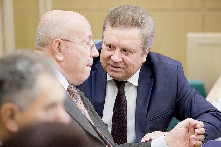 379-е заседание Совета Федерации Серебренников