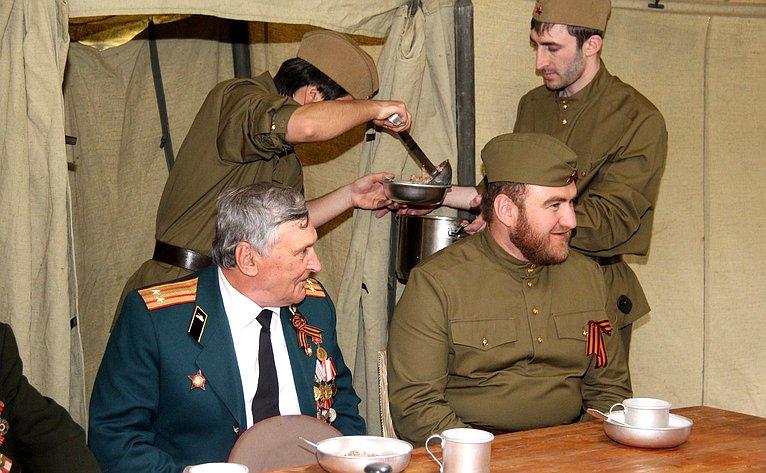 Рауф Арашуков организовал торжественный приём ветеранов Великой Отечественной Войны