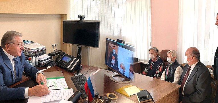 Сергей Лукин вонлайн-формате провел прием граждан Аннинского иТаловского муниципальных районов