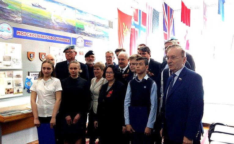 Визит норвежской делегации вмурманскую гимназию