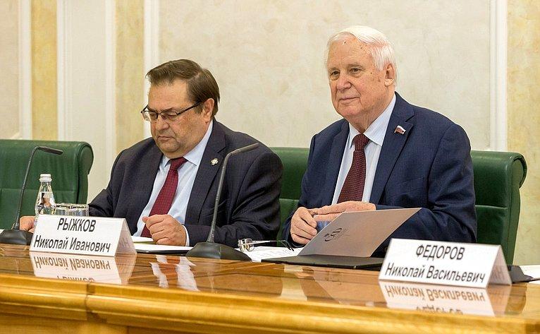Юрий Петров иНиколай Рыжков