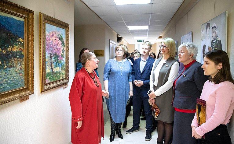 Открытие вСовете Федерации выставки «Крым– сокровище России»