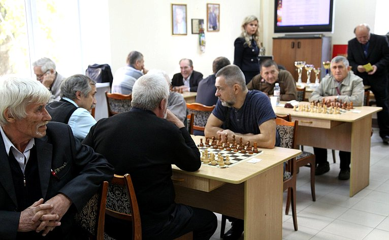 Финал областного турнира пошахматам среди ветеранов