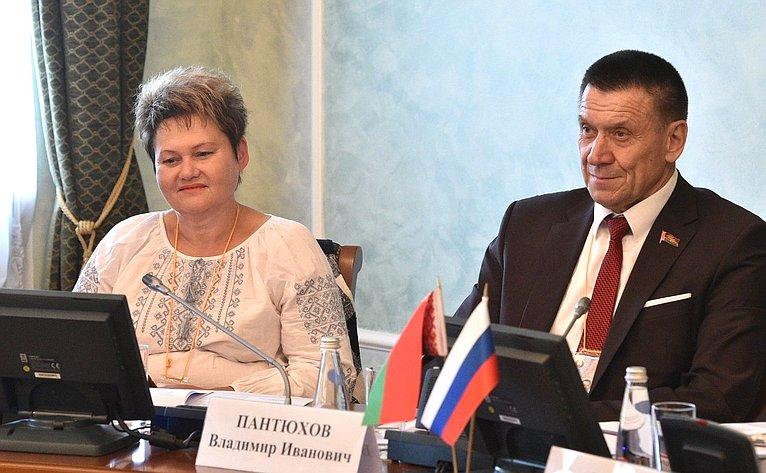 Нина Железнова иВладимир Пантюхов