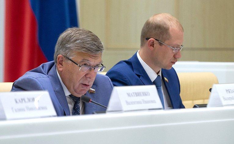 В. Рязанский иН. Бурматов