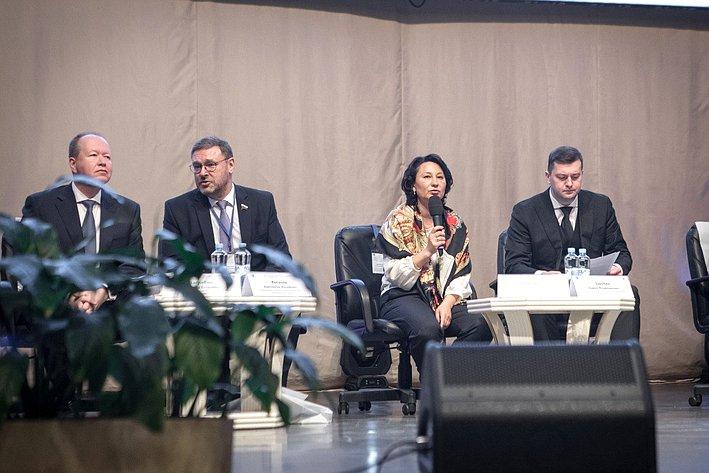 К. Косачев выступил наежегодном форуме сотрудников международных подразделений российских образовательных организаций высшего образования