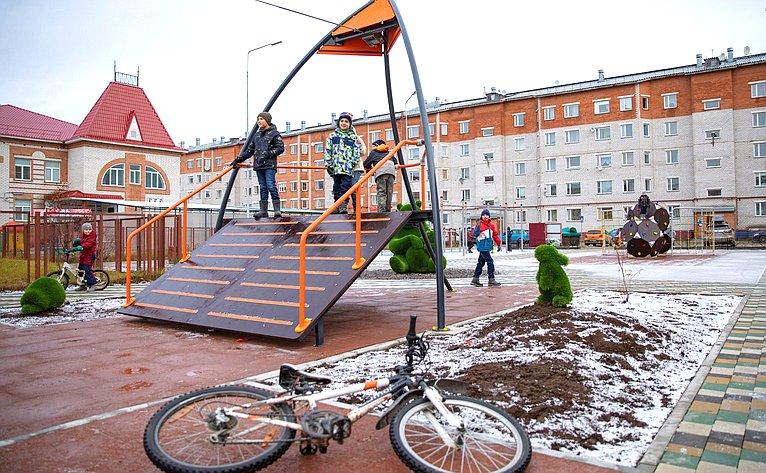 Денис Гусев врамках работы врегионе принял участие воткрытии спортивно-игровых кластеров ипрезентации туристического маршрута