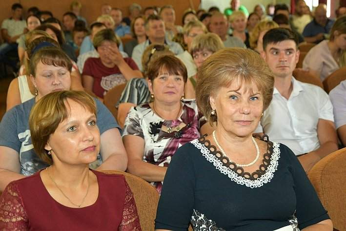 Татьяна Гигель встретилась смедицинским сообществом Чемальского района