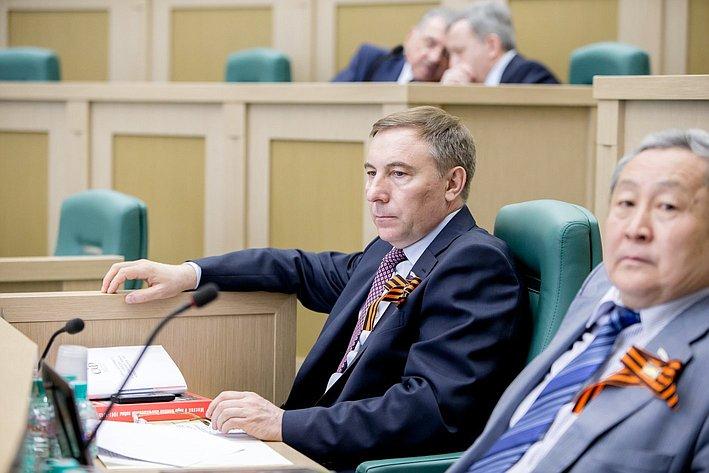 373-е Заседание Совета Федерации Варфоломеев и Тулохонов
