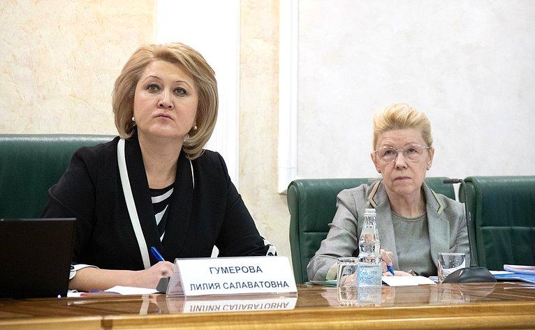 Лилия Гумерова иЕлена Мизулина