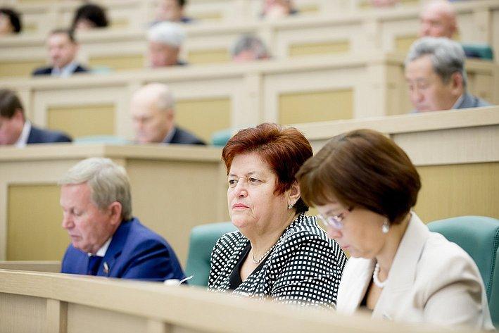 Козлова Парламентские слушания, посвященные параметрам проекта федерального бюджета на 2016 год и прогнозу социально-экономического развития России до 2018 года