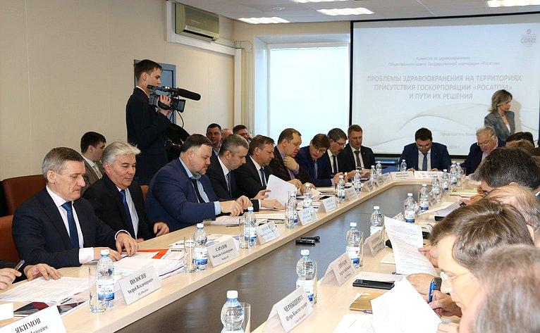 Выездное совещание Комитета СФ пофедеративному устройству, региональной политике, местному самоуправлению иделам Севера вСарове (Нижегородская область)