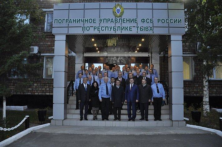 Выездное заседание Комитета СФ по обороне и безопасности в Кызыле (Республика Тыва)