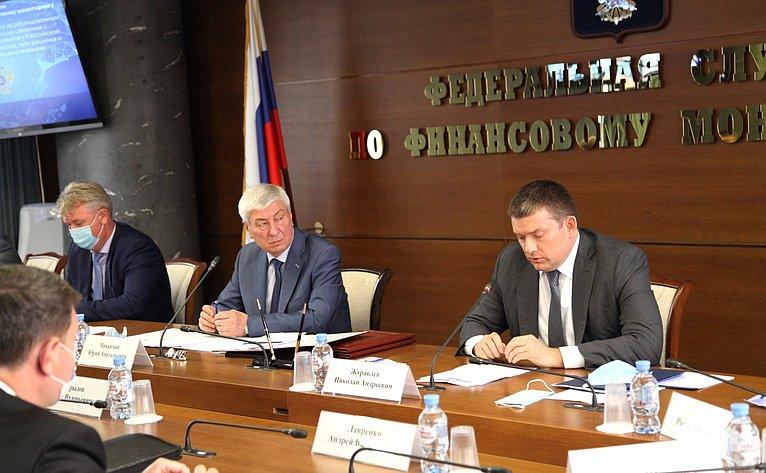 Николай Журавлев принял участие взаседании коллегии Федеральной служба пофинансовому мониторингу