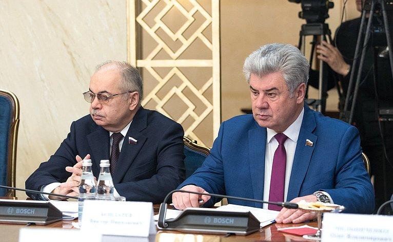 Ильяс Умаханов иВиктор Бондарев