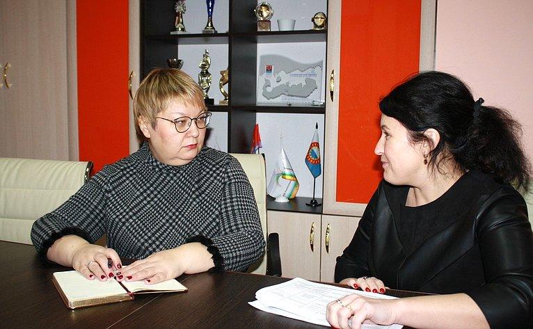 Ольга Старостина встретилась сруководством учреждений среднего профессионального образования