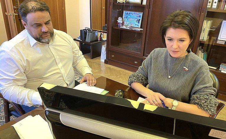 Маргарита Павлова провела прием граждан