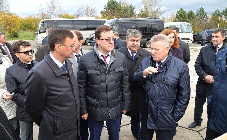 Выездное совещание Комитета СФ пофедеративному устройству, региональной политике, местному самоуправлению иделам Севера вХабаровском крае