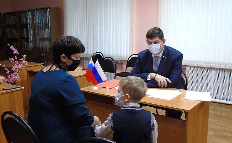 Виктор Смирнов провёл приём граждан вИвановской области